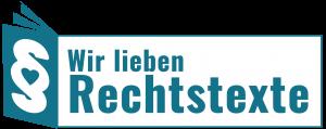 Wir lieben Rechtstexte - Logo